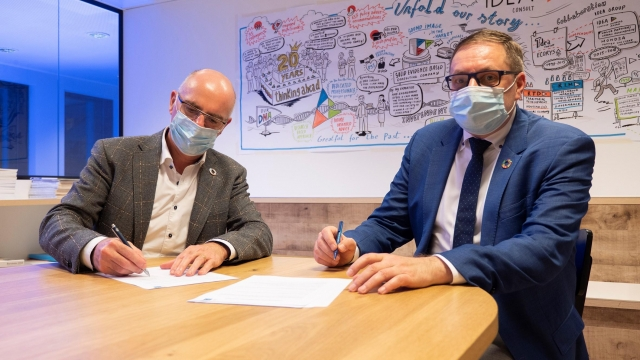 IDEA Consult signed a partnership agreement with CIFAL Flanders