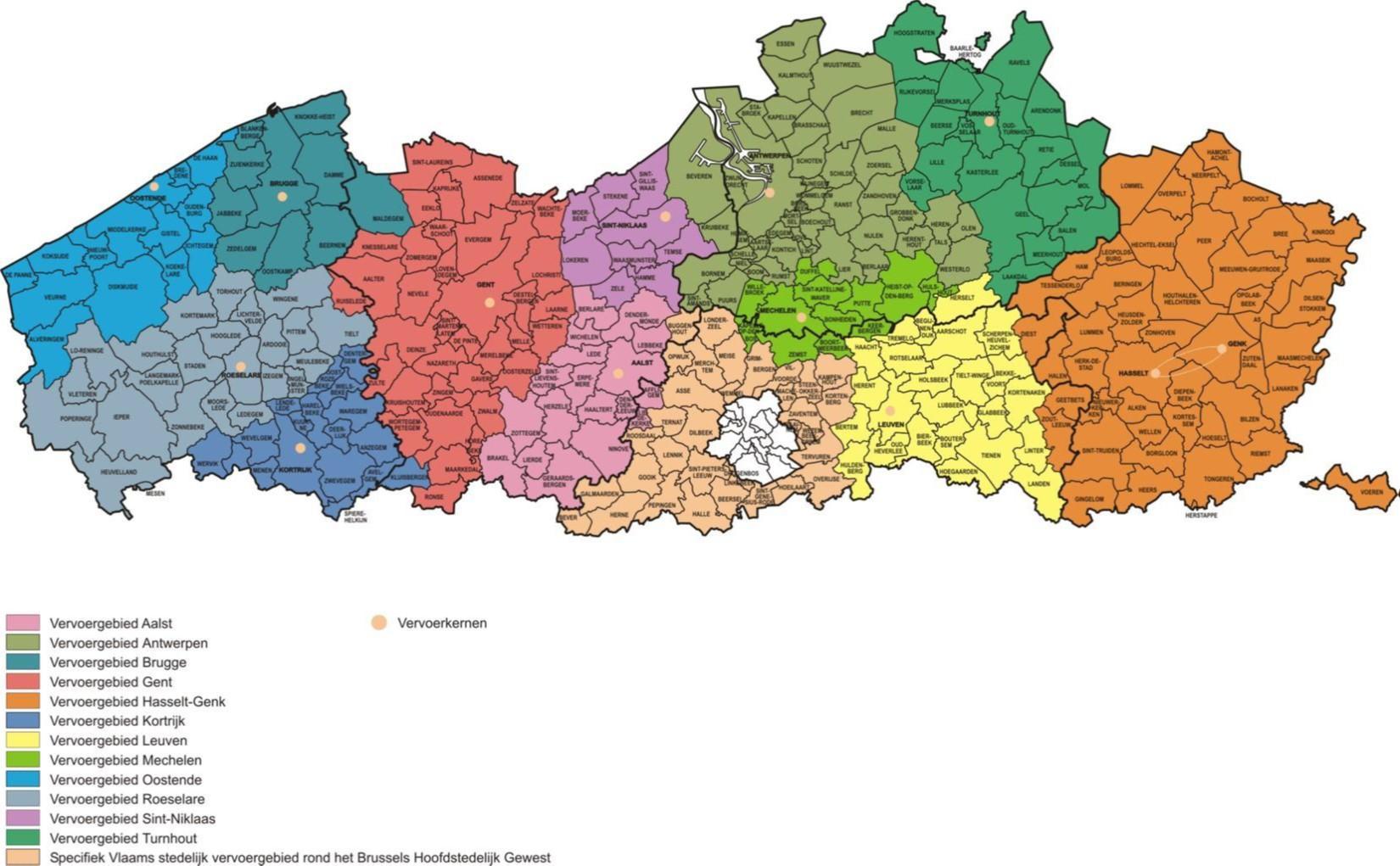 Naar een sterkere regiowerking in Vlaanderen?